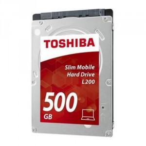 Toshiba L200 500GB Unidad de disco duro 500GB Serial ATA III disco duro interno