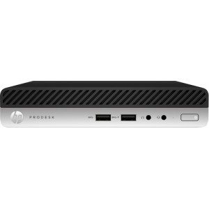 HP ProDesk 400 G4 2.1GHz i5-8500T Mini PC 8ª generación de procesadores Intel® Core™ i5 Negro, Plata Mini PC