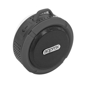 Approx BLUETOOTH 4.2 + EDR APPSPWPB 3W RMS REISTENTE AL AGUA RADIO MANOS LIBRES COLOR NEGRO