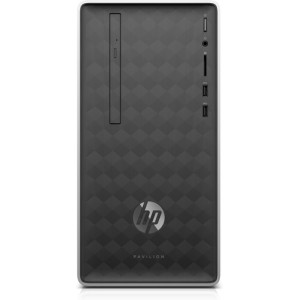 HP Pavilion 590-a0202ns 2,00 GHz Intel® Celeron® J4005 Gris, Plata Mini Tower PC