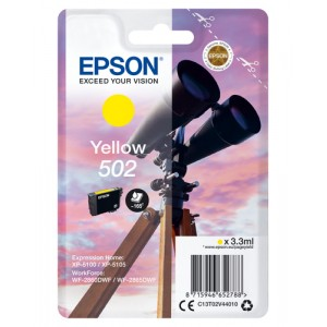 Epson Singlepack Yellow 502 Ink