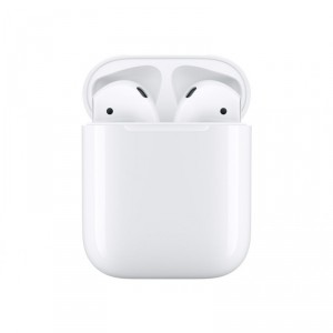 Apple AirPods with Charging Case - 2nd Generation - auriculares inalámbricos con micro - auriculares de oído - Bluetooth - para
