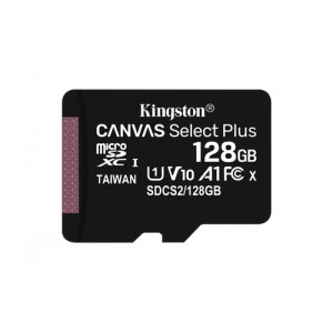 Kingston Technology Canvas Select Plus memoria flash 128 GB MicroSDXC Clase 10 UHS-I