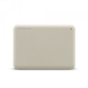 Toshiba Canvio Advance disque dur externe 2000 Go Blanc