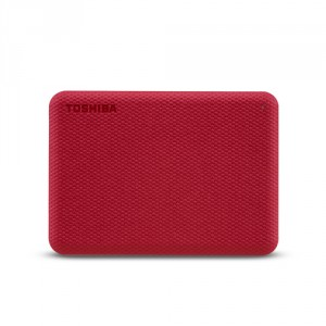 Toshiba Canvio Advance disque dur externe 1000 Go Rouge