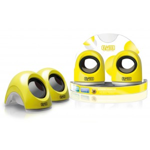 Sweex Notebook Speaker Mellow Yellow