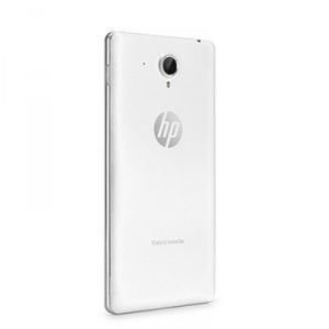 HP Slate 6 VoiceTab White Back Cover