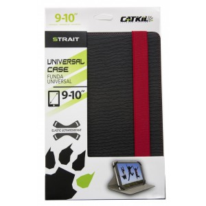 "Catkil FUNDA TABLET UNIVERSAL MOD. STRAIT 9-10,1"" RED"