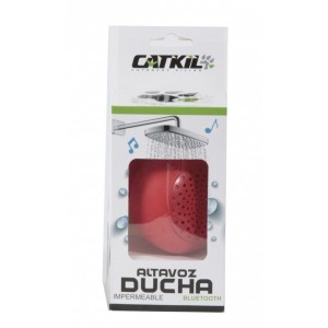 Catkil ALTAVOZ BLUETOOTH DUCHA ATLANTA RED