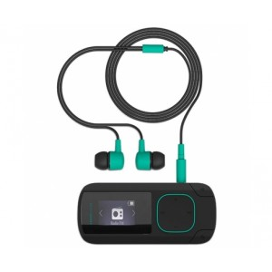 Energy Sistem MP3 Clip Bluetooth Mint (8GB, Clip, Radio FM y microSD)