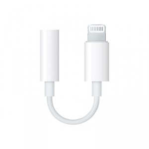 Apple Lightning to 3.5 mm Headphone Jack Adapter - Adaptador de Lightning a toma de auriculares - Lightning (M) a miniconector e