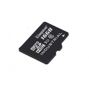 Kingston Technology Industrial Temperature microSD UHS-I 16GB 16GB MicroSDHC UHS-I Class 10 memoria flash