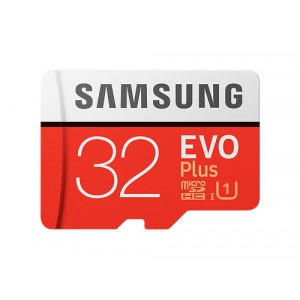 Samsung EVO Plus MB-MC32G 32GB MicroSDHC UHS-I Clase 10 memoria flash