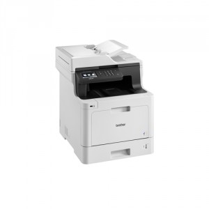 Brother DCP-L8410CDW 2400 x 600DPI Laser A4 31ppm Wifi Negro, Color blanco multifuncional