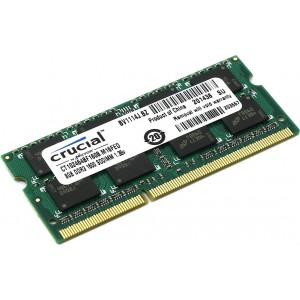 Crucial Technology MEMRIA 8GB DDR3 1600MT/S CL11