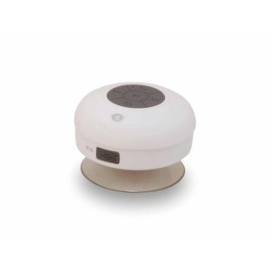 Conceptronic BLUETOOTH CON VENTOSA IMPERMEABLE COLOR BLANCO