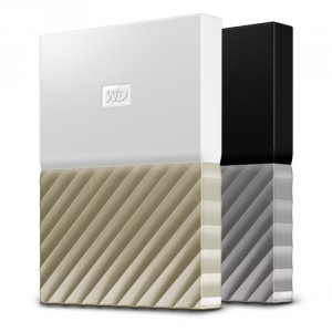 Western Digital HDD EXT My Pass Ultra 4TB White Gold
