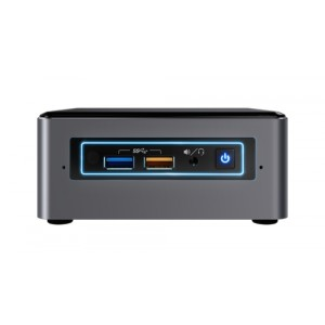 Intel Next Unit of Computing Kit NUC7I3BNHXF - Miniordenador - 1 x Core i3 7100U / 2.4 GHz - RAM 4 GB - HDD 1 TB - HD Graphics 6