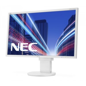 "NEC MultiSync EA224WMi - LED - 22"" (21.5"" visible) - 1920 x 1080 Full HD (1080p) - IPS - 250 cd/m² - 1000:1 - 14 ms - HD"