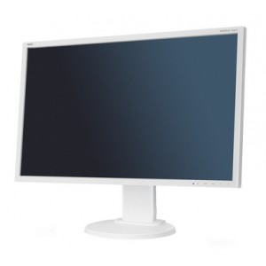 "NEC MultiSync E224Wi 21.5"" Color blanco Full HD"