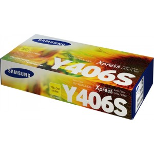 HP Samsung CLT-Y406S Yellow Toner Cartridge