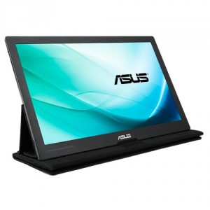 "ASUS MB169C+ 15.6"" Full HD IPS Negro, Gris pantalla para PC"