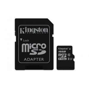 Kingston Technology Canvas Select 16GB MicroSD UHS-I Clase 10 memoria flash