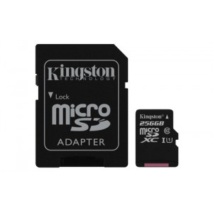 Kingston Technology Canvas Select 256GB MicroSD UHS-I Clase 10 memoria flash