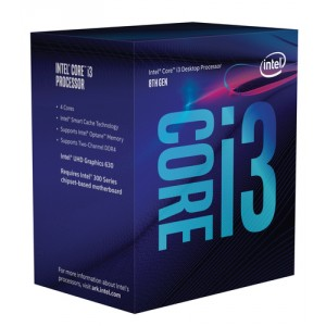 Intel Core i3-8300 3.7GHz 8MB Caja procesador