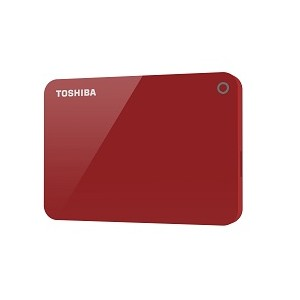 Toshiba Canvio Advance 1000GB Rojo disco duro externo